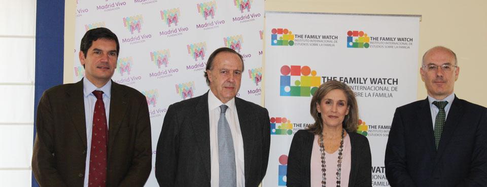 SE PRESENTA EL V BARÓMETRO THE FAMILY WATCH SOBRE LA FAMILIA EN ESPAÑA