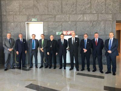 Encuentro entre el Presidente de Honor de la Fundación Madrid Vivo y miembros del patronato
