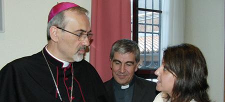 Encuentro con D. Pierbattista Pizzaballa Administrador Apostólico del Patriarcado Latino de Jerusalén