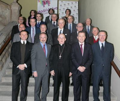 Celebración del Patronato de la Fundación Madrid Vivo presidido por el Arzobispo Carlos Osoro