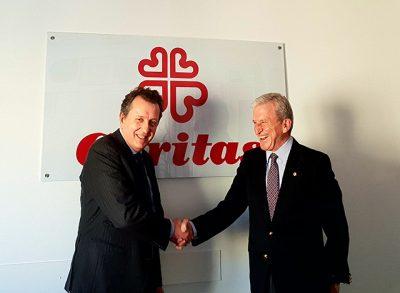 Reunión con el Presidente de Cáritas España