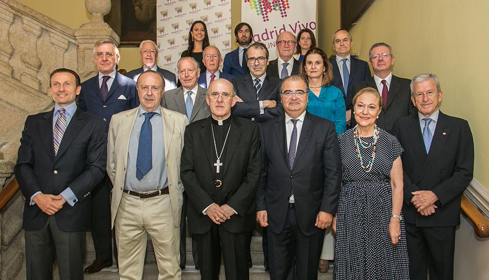 El presidente de Cáritas España, nuevo patrono de la Fundación Madrid Vivo