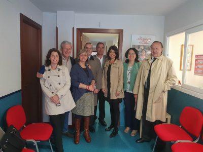 Visitamos el Taller formativo de alfabetización digital de Cáritas Madrid